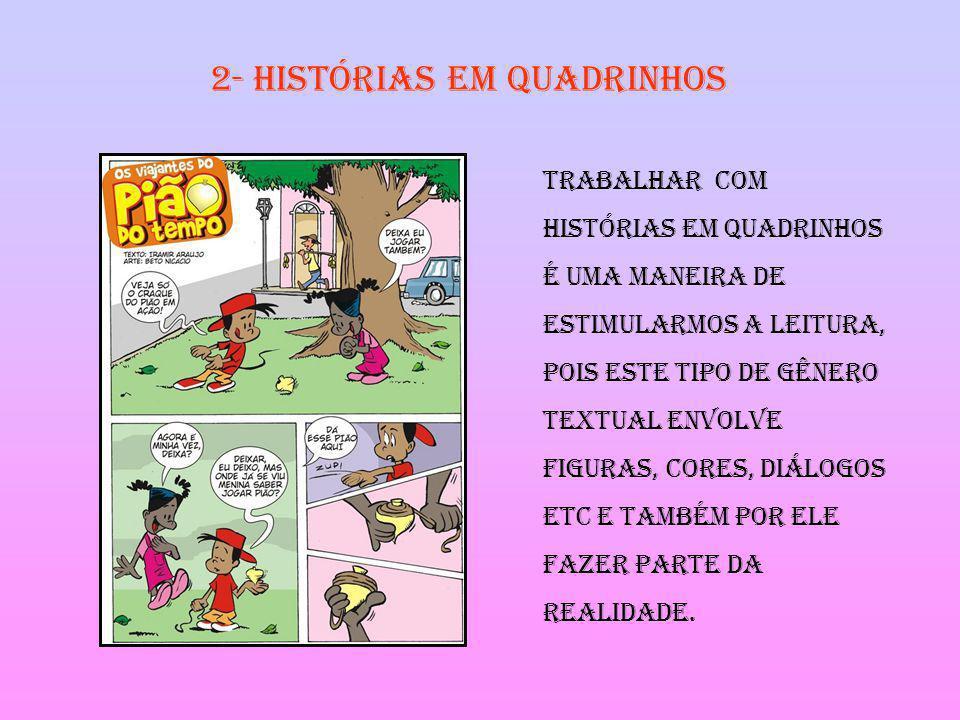 2- Histórias em quadrinhos