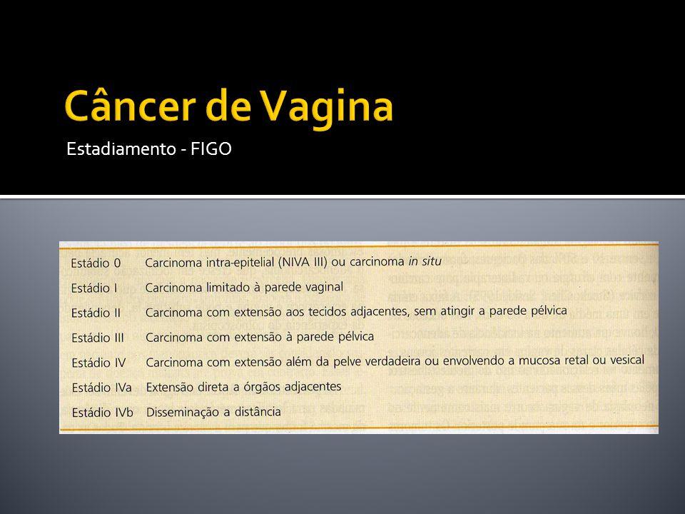 Câncer de Vagina Estadiamento - FIGO