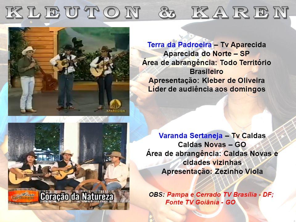 KLEUTON & KAREN Terra da Padroeira – Tv Aparecida