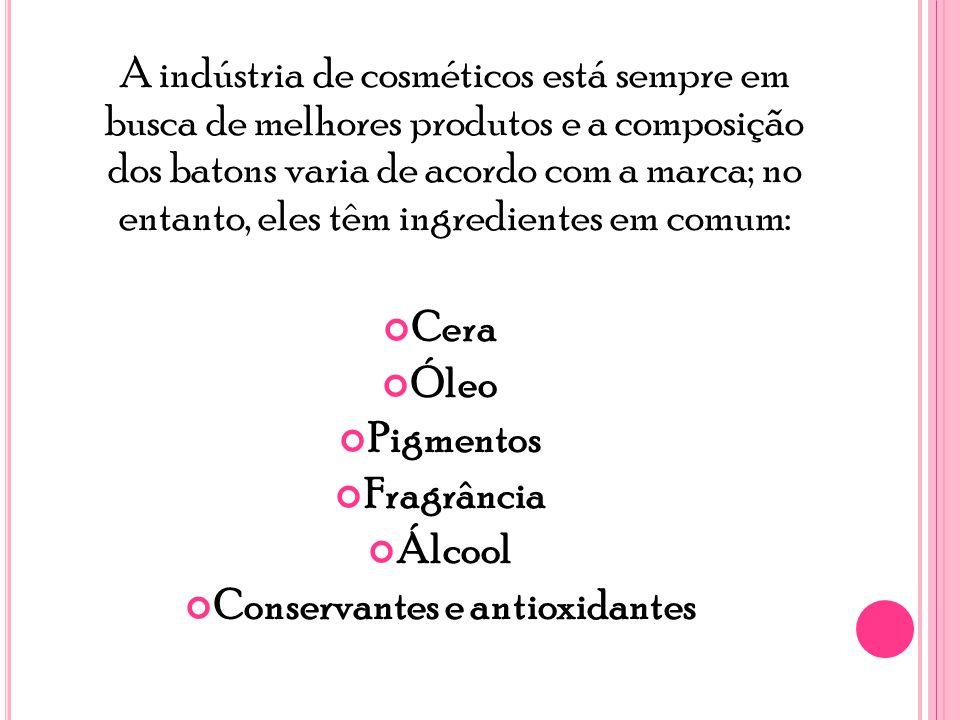 Conservantes e antioxidantes