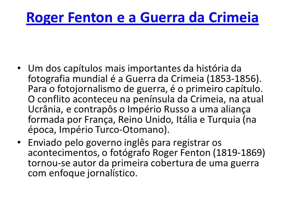 Roger Fenton e a Guerra da Crimeia