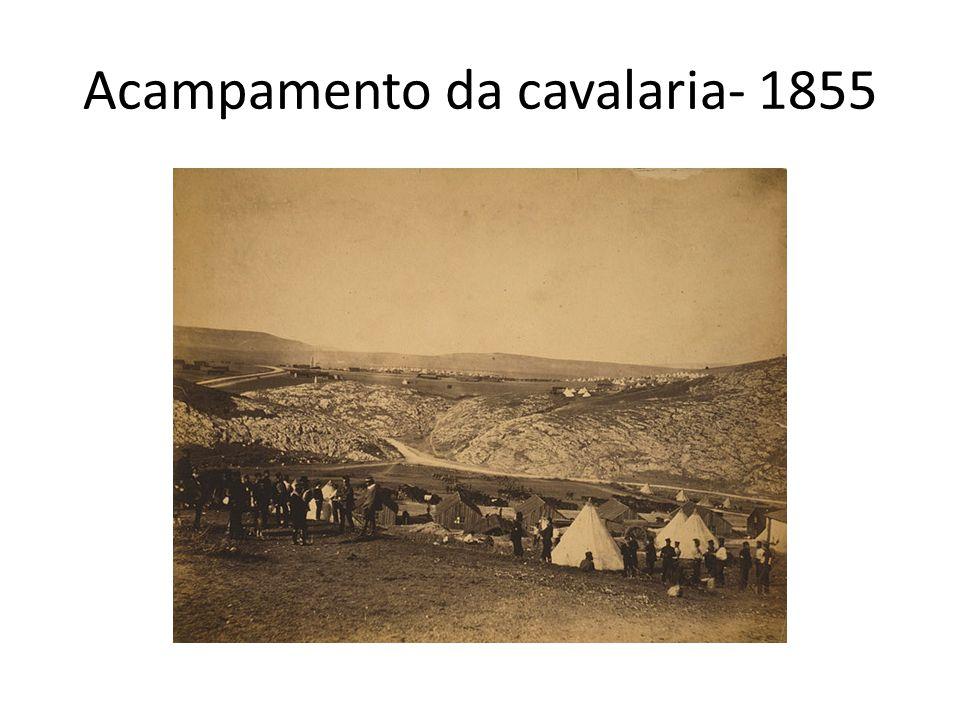 Acampamento da cavalaria- 1855