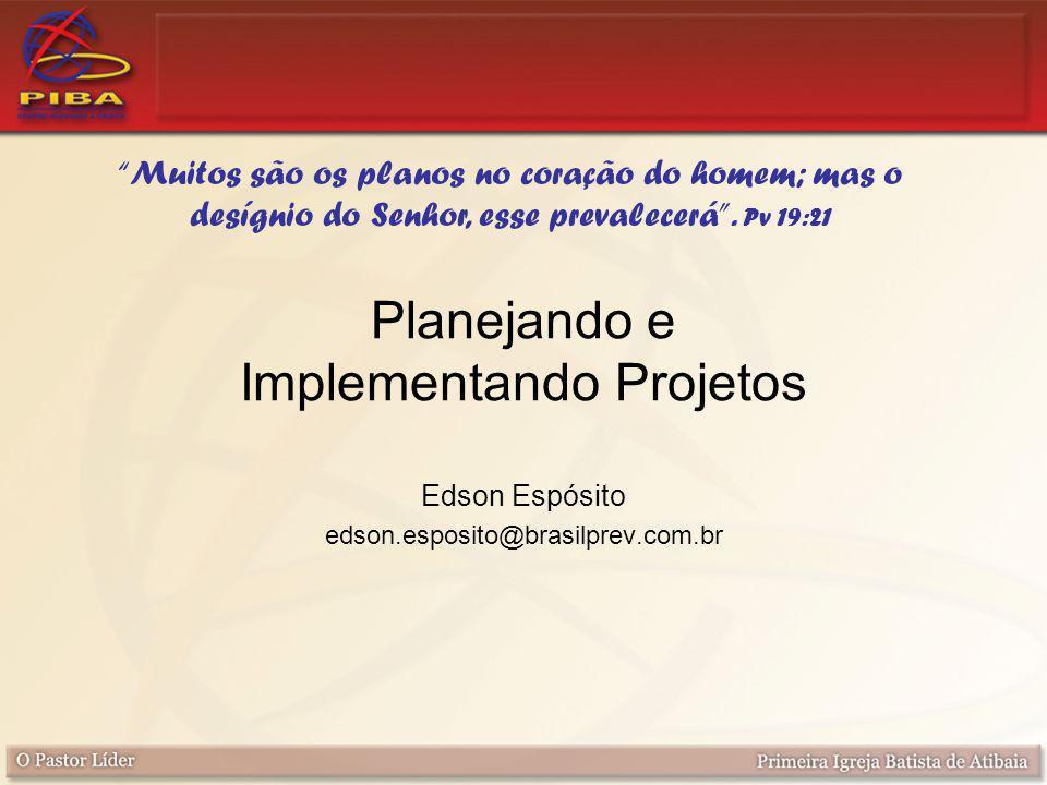 Planejando e Implementando Projetos