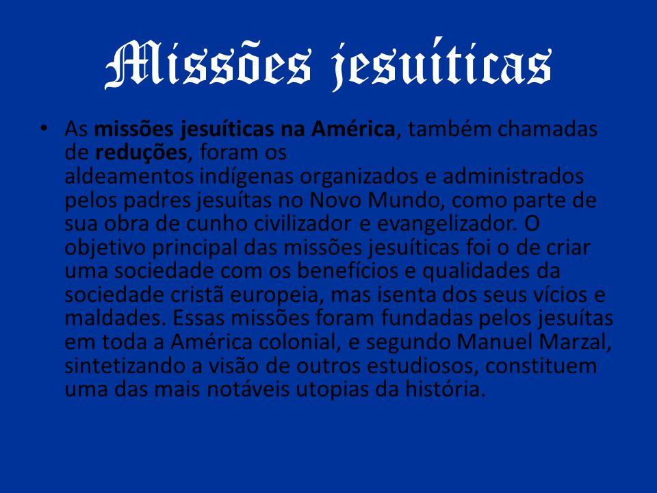 Missões jesuíticas