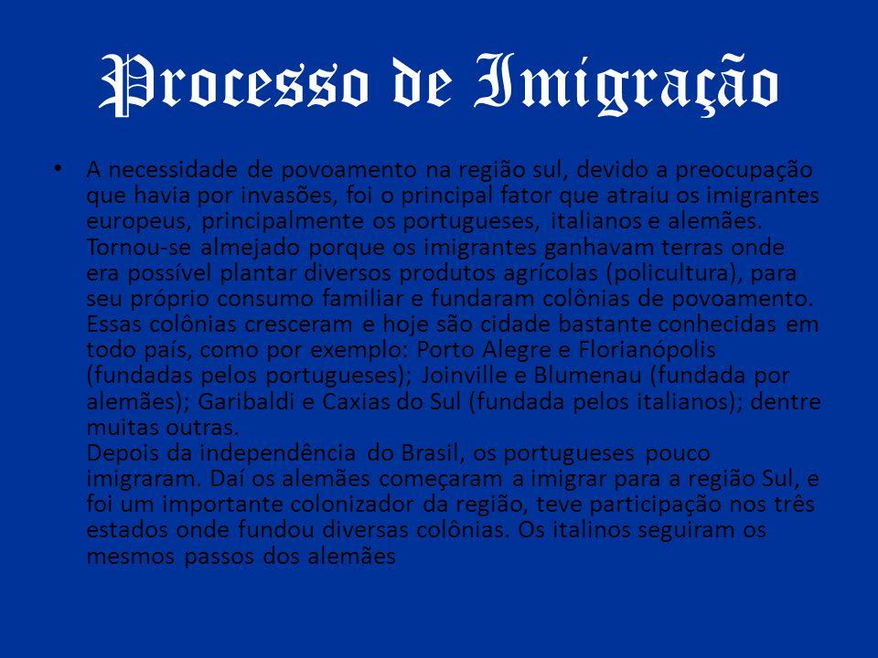 Processo de Imigração