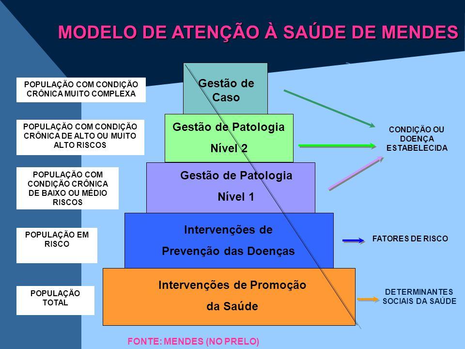 MODELO DE ATENÇÃO À SAÚDE DE MENDES