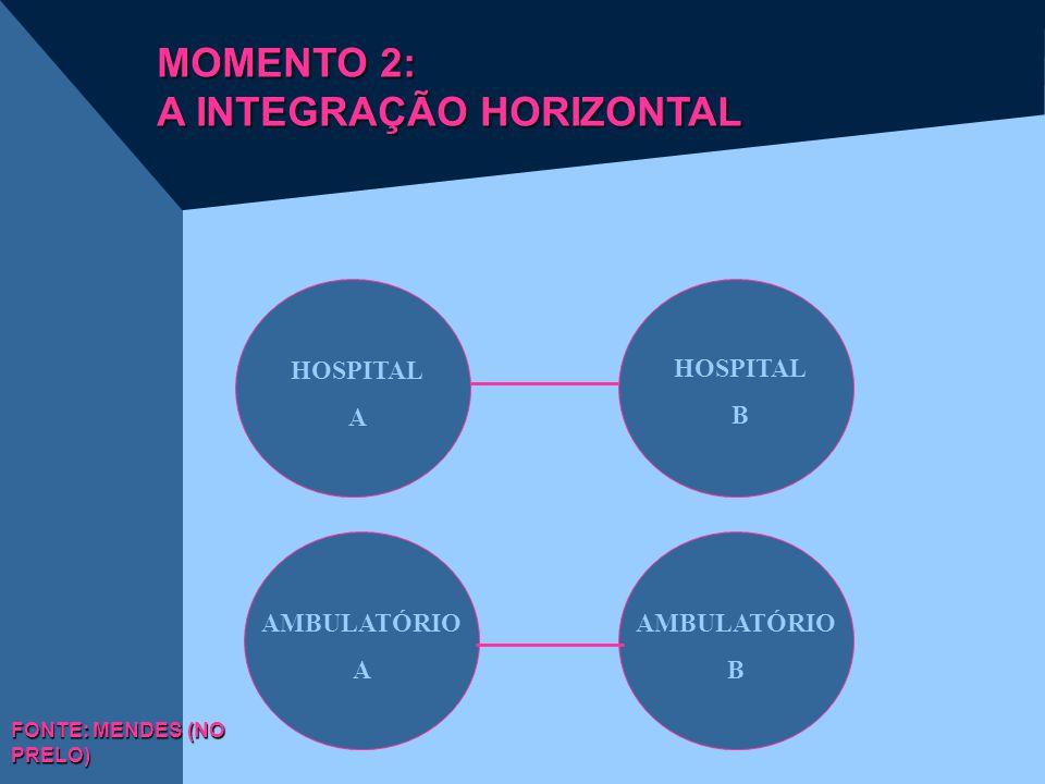 MOMENTO 2: A INTEGRAÇÃO HORIZONTAL