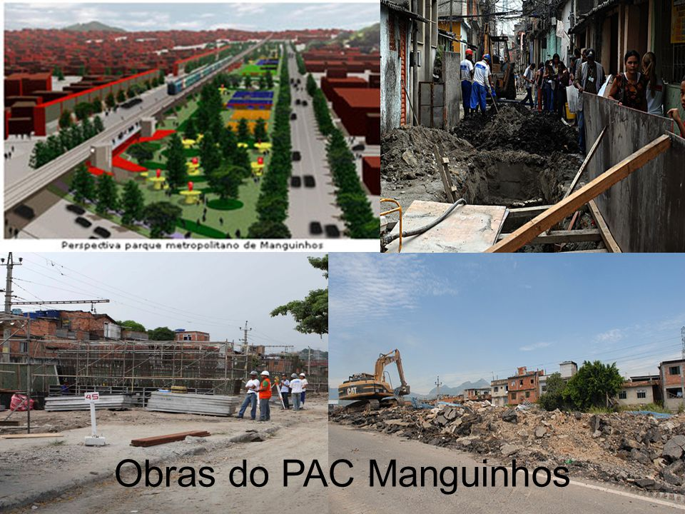 Obras do PAC Manguinhos