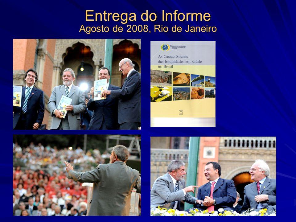 Entrega do Informe Agosto de 2008, Rio de Janeiro