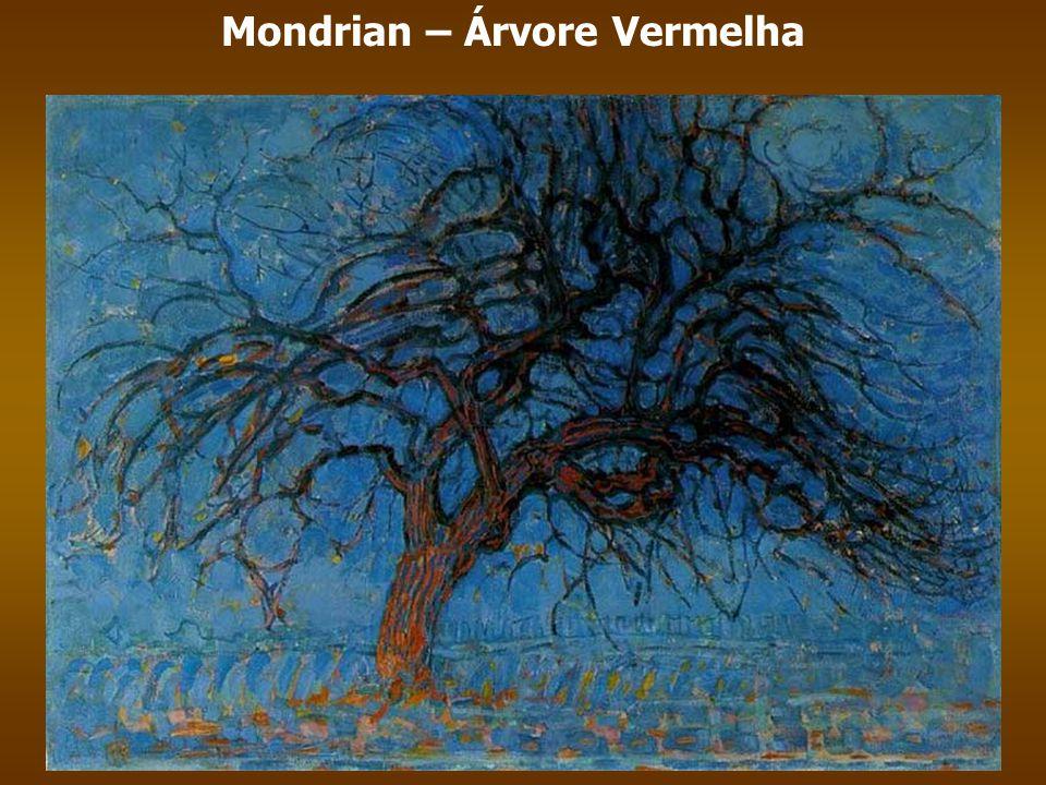 Mondrian – Árvore Vermelha