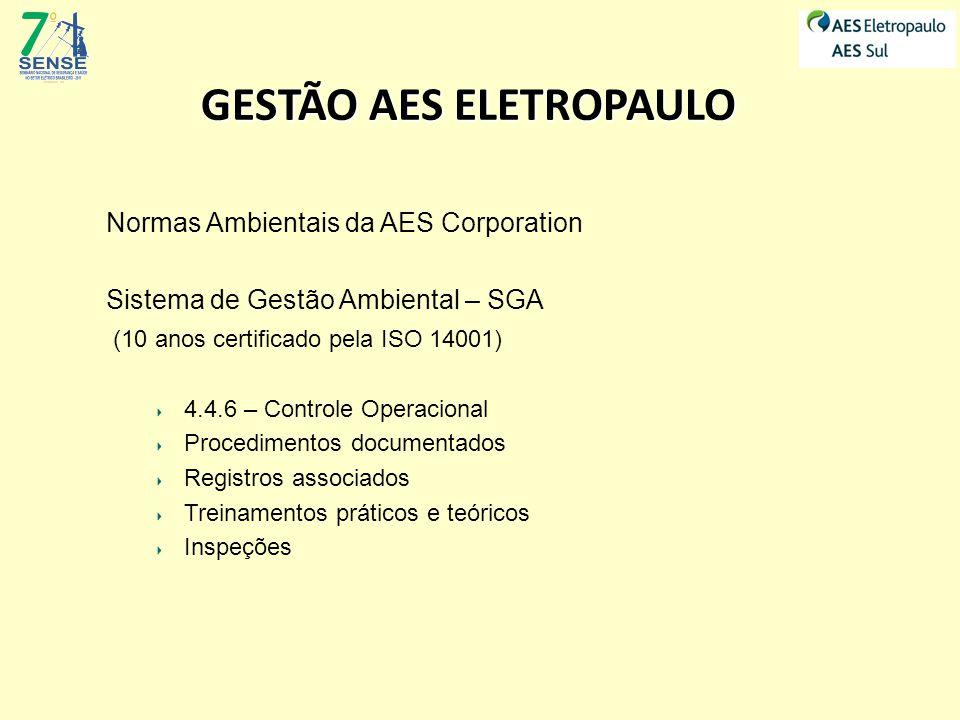 GESTÃO AES ELETROPAULO