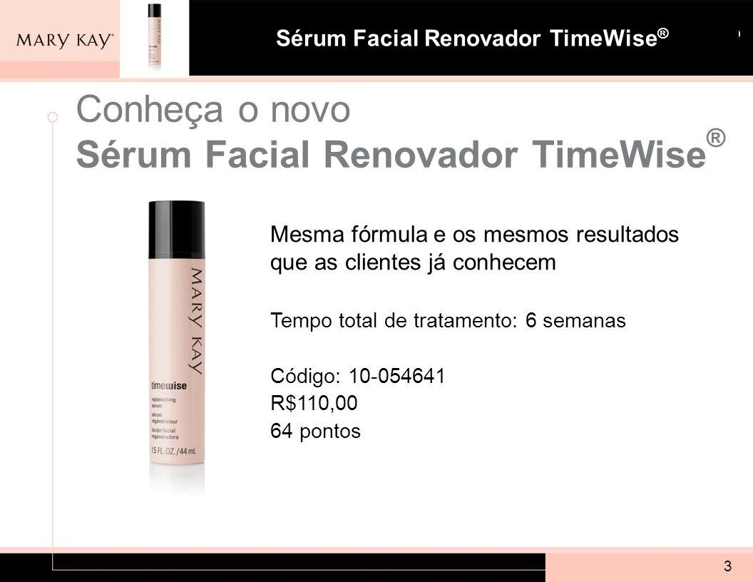 Conheça o novo Sérum Facial Renovador TimeWise®