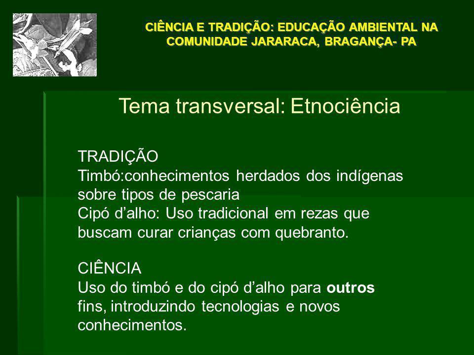 Tema transversal: Etnociência