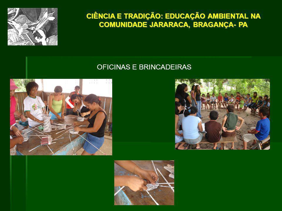 OFICINAS E BRINCADEIRAS