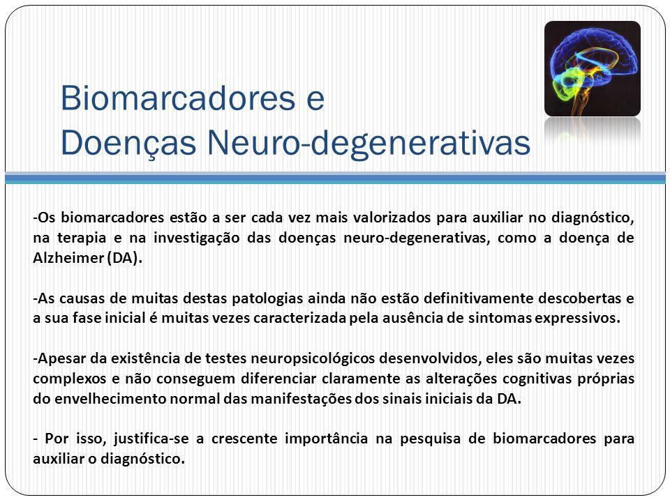 Biomarcadores e Doenças Neuro-degenerativas