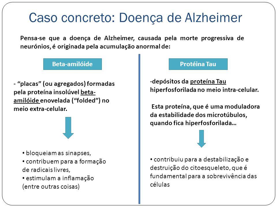 Caso concreto: Doença de Alzheimer