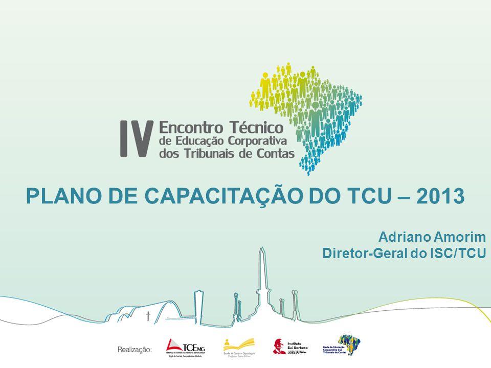 PLANO DE CAPACITAÇÃO DO TCU – 2013