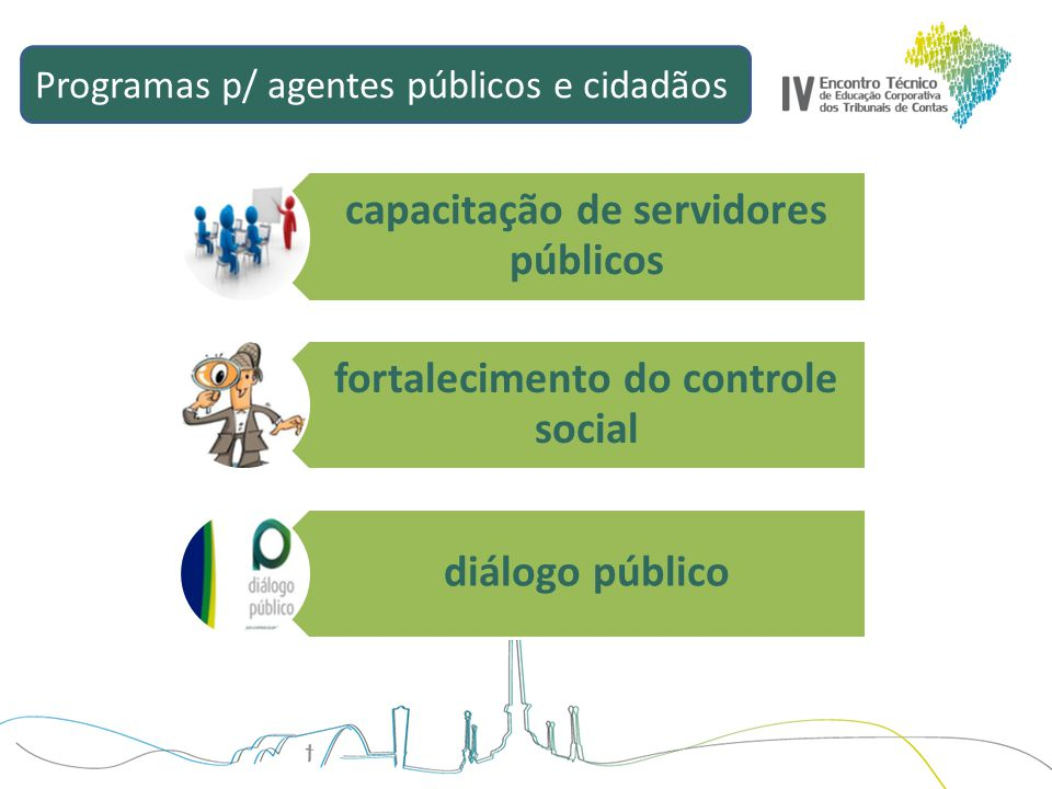 capacitação de servidores públicos fortalecimento do controle social
