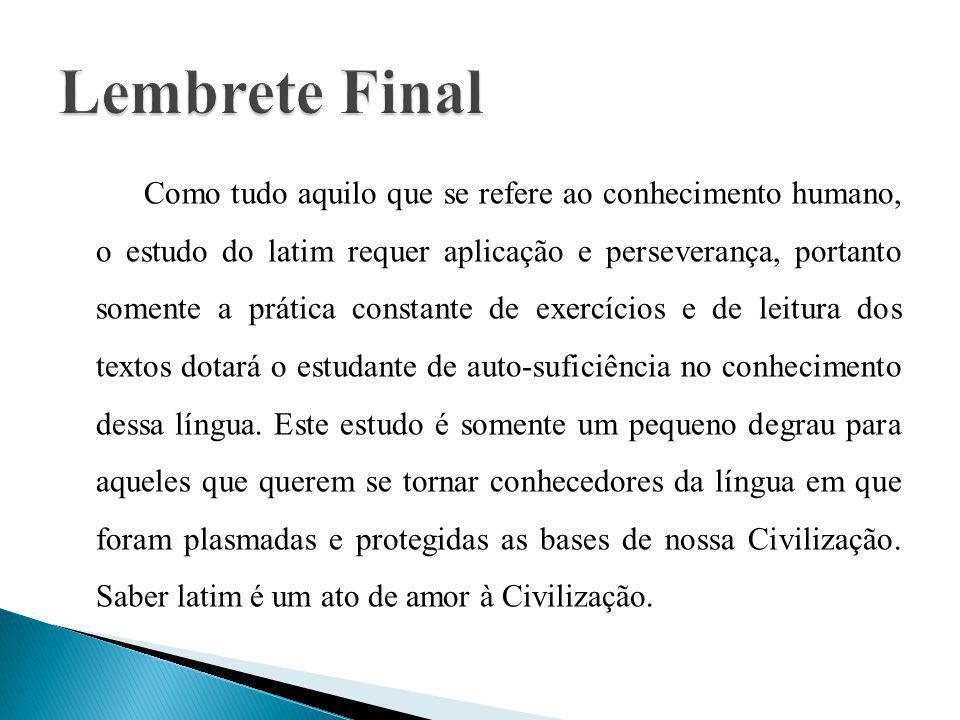 Lembrete Final