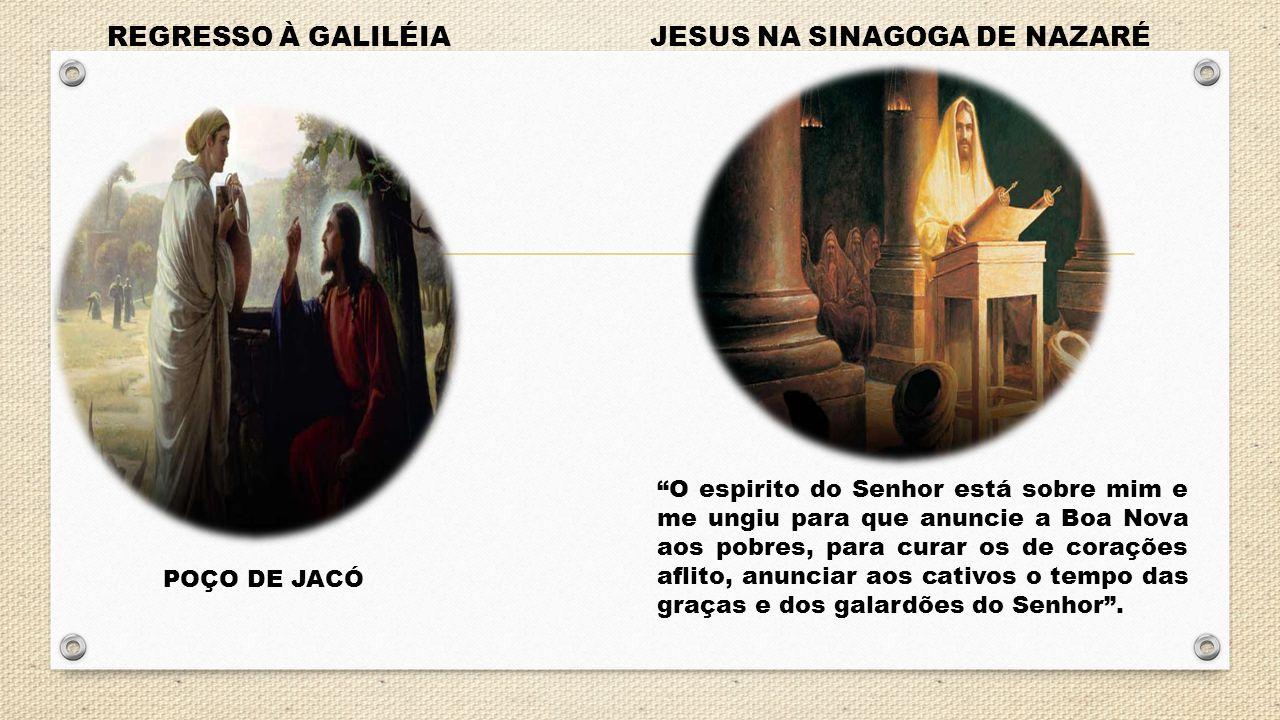 JESUS NA SINAGOGA DE NAZARÉ