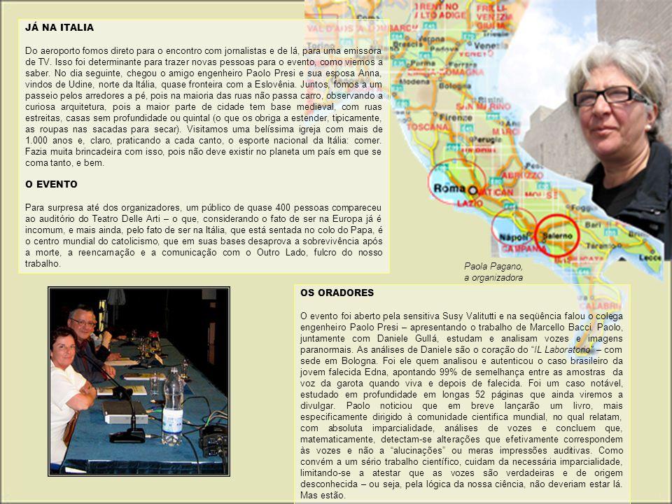 JÁ NA ITALIA
