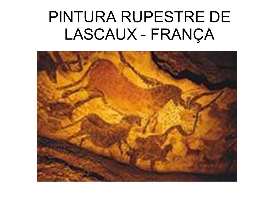 PINTURA RUPESTRE DE LASCAUX - FRANÇA