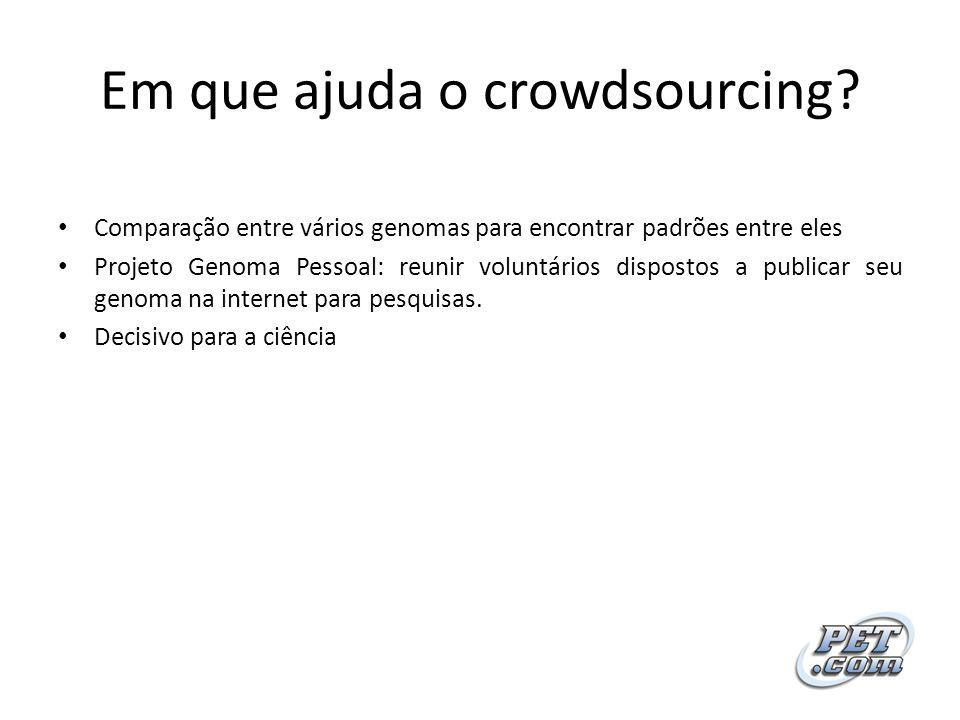 Em que ajuda o crowdsourcing