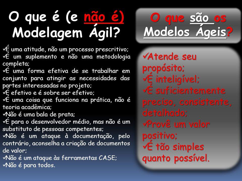 O que são os Modelos Ágeis