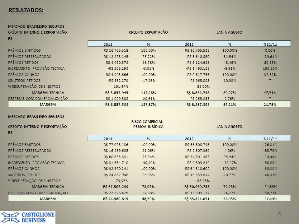 RISCO COMERCIAL - PESSOA JURÍDICA