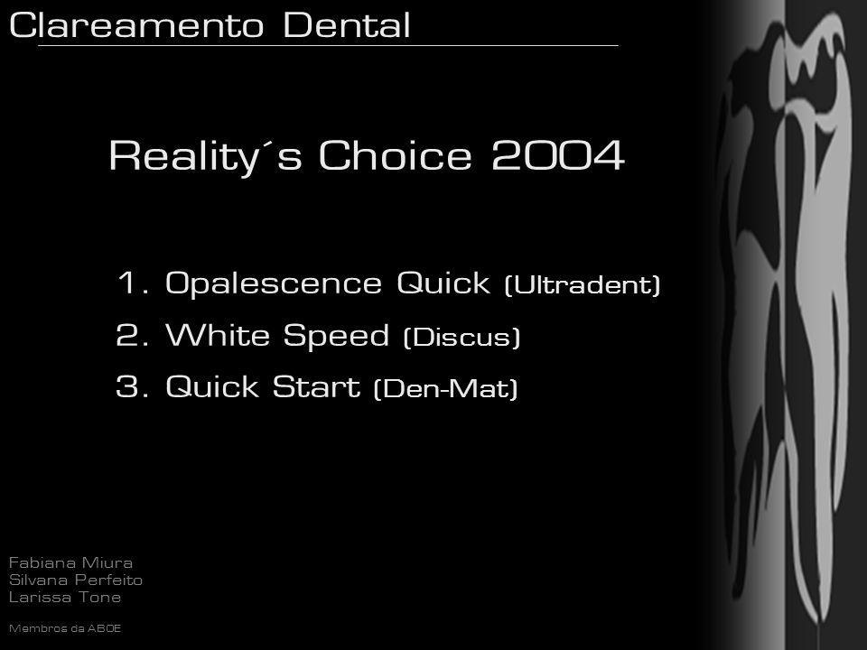 Reality´s Choice 2004 Opalescence Quick (Ultradent)