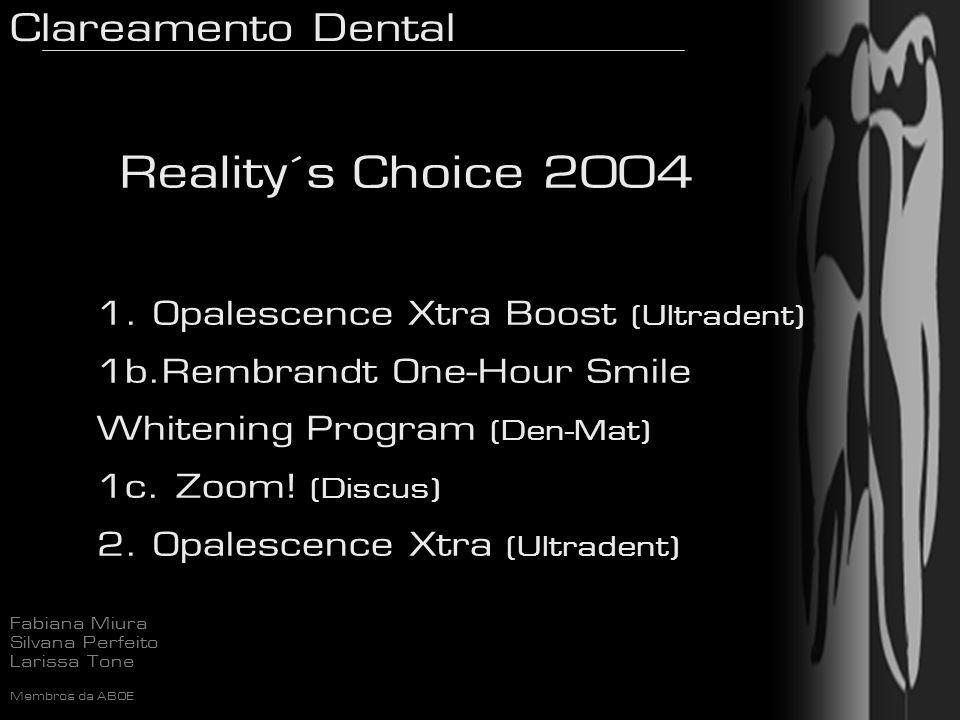 Reality´s Choice 2004 Opalescence Xtra Boost (Ultradent)
