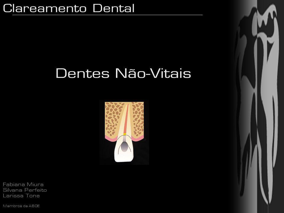 Dentes Não-Vitais