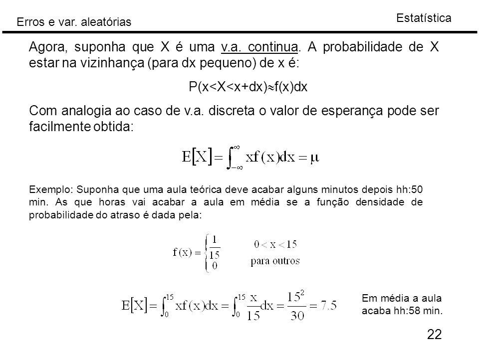 P(x<X<x+dx)f(x)dx