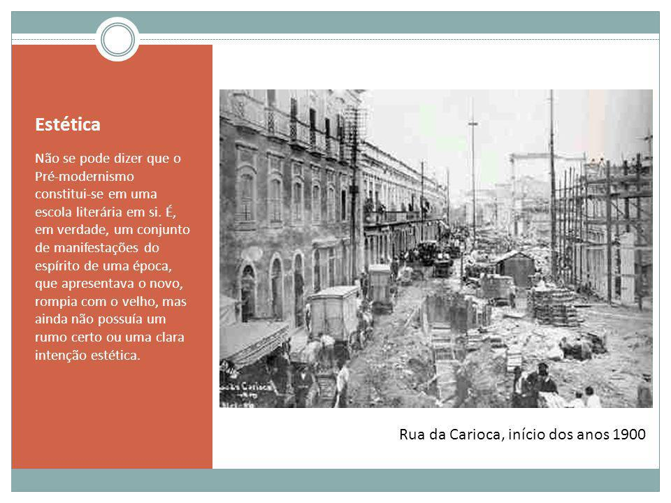 Estética Rua da Carioca, início dos anos 1900