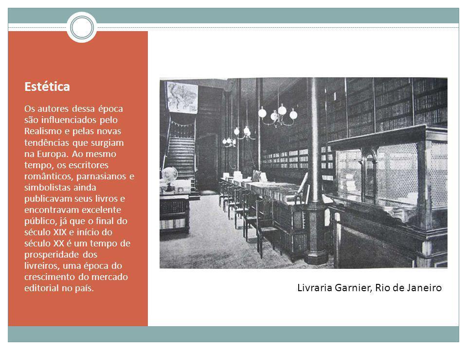 Estética Livraria Garnier, Rio de Janeiro
