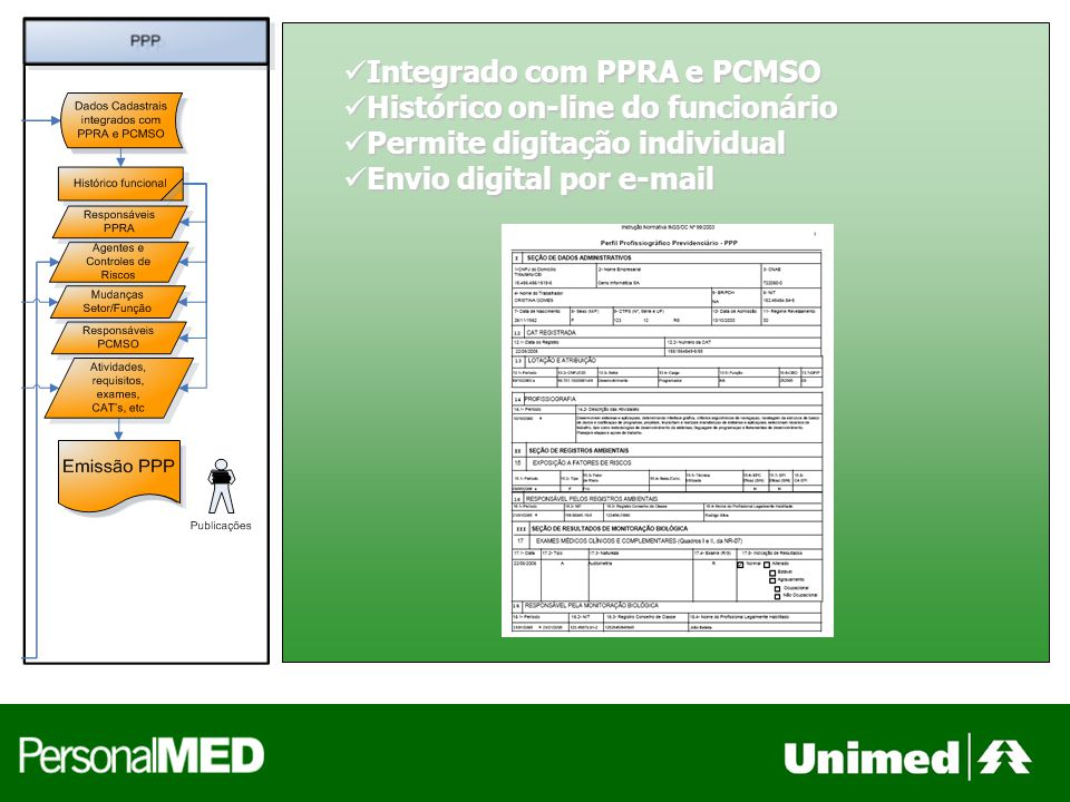 Integrado com PPRA e PCMSO