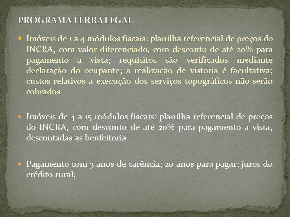 PROGRAMA TERRA LEGAL