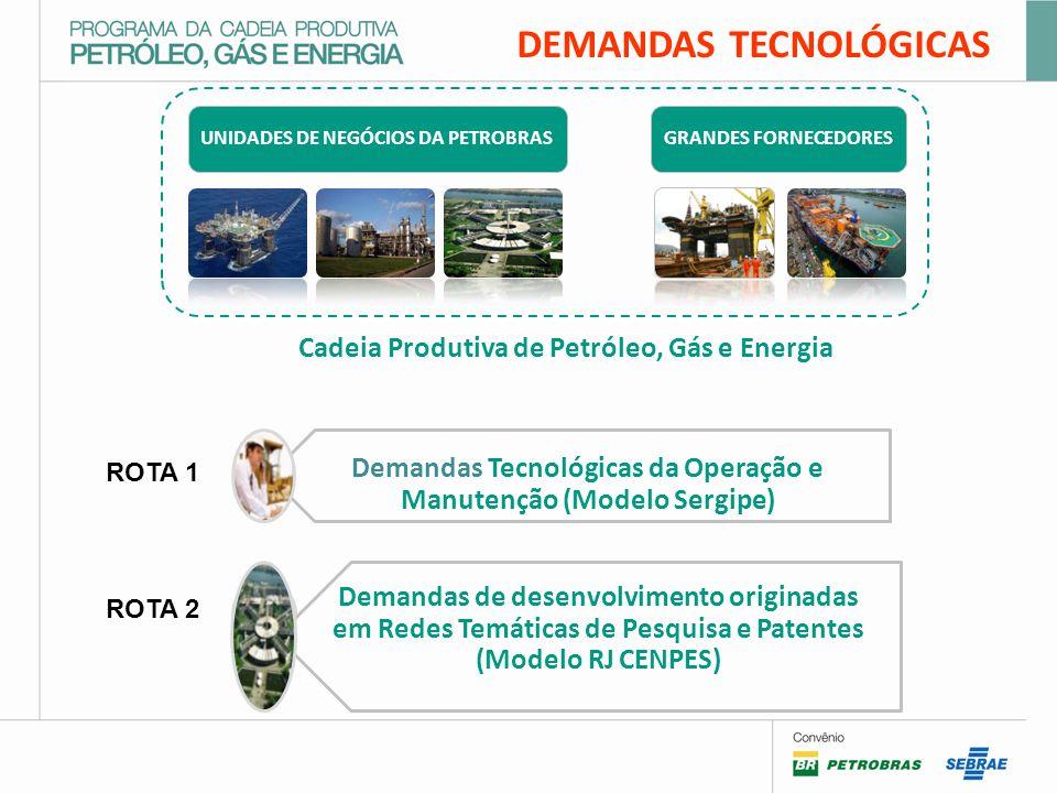 Cadeia Produtiva de Petróleo, Gás e Energia