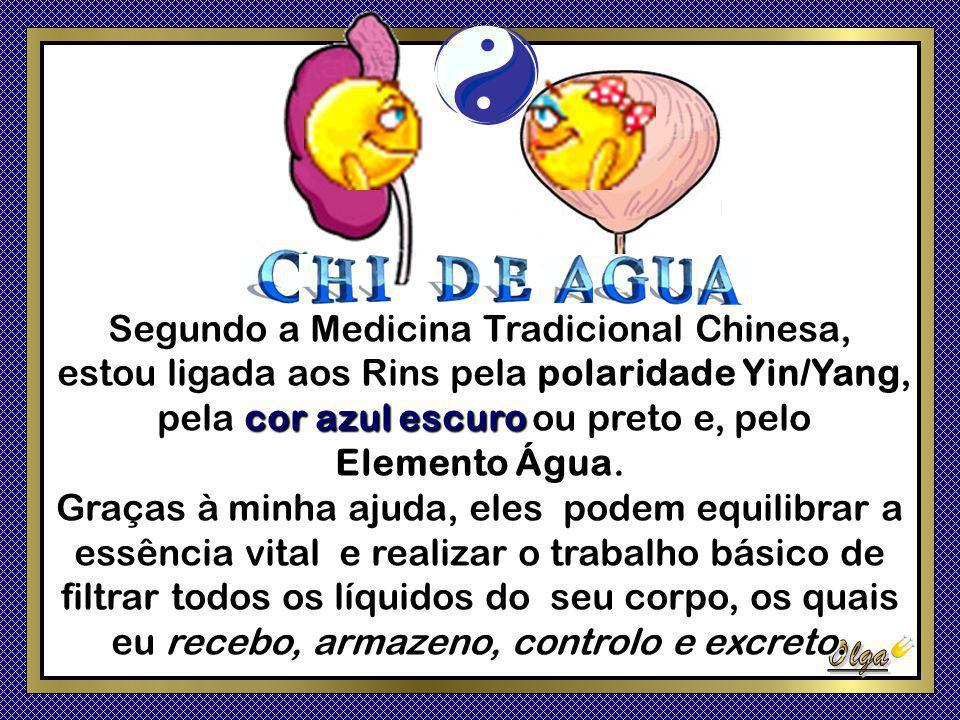 Segundo a Medicina Tradicional Chinesa,