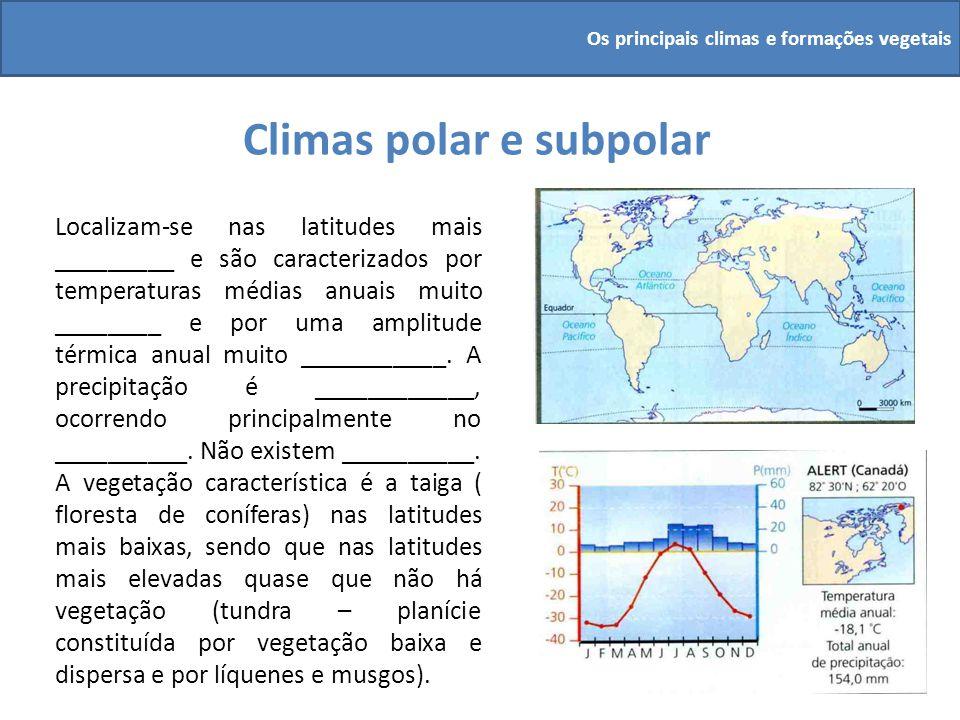 Climas polar e subpolar