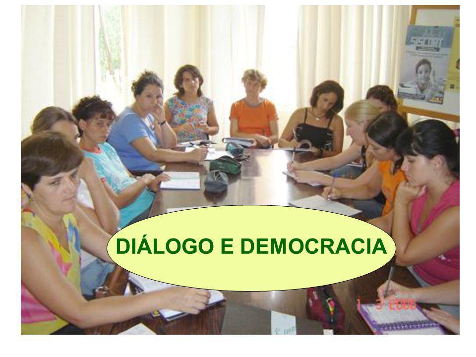 DIÁLOGO E DEMOCRACIA