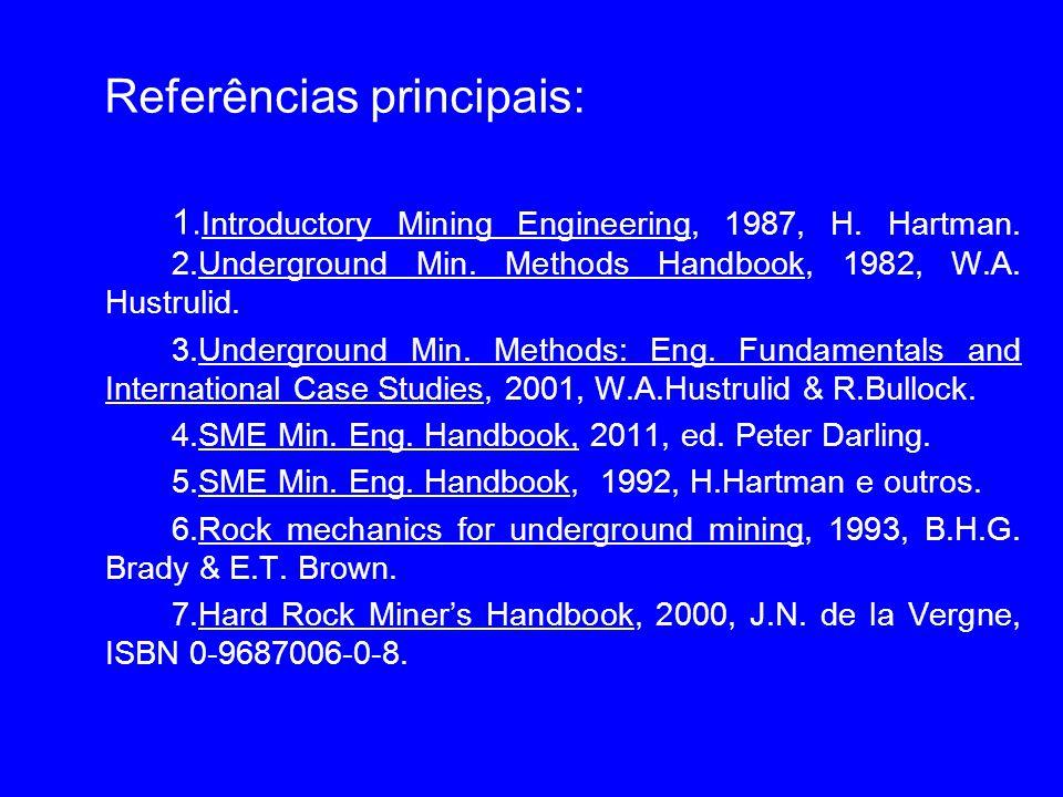 Referências principais: