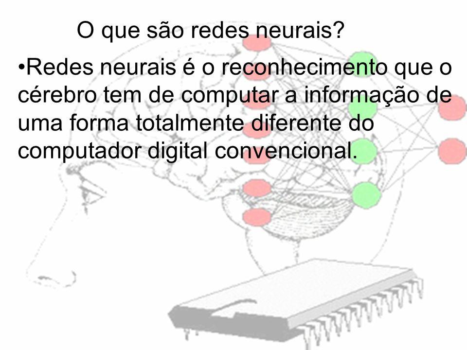 O que são redes neurais