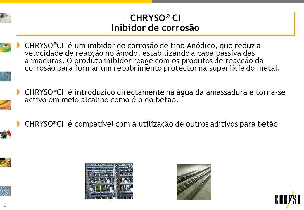 CHRYSO® CI Inibidor de corrosão