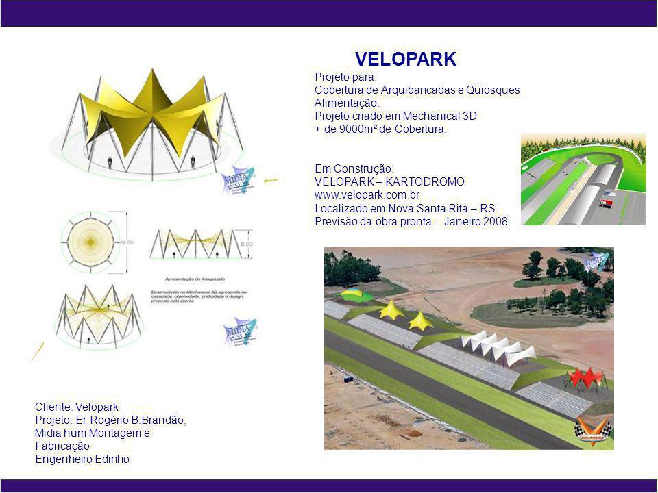 VELOPARK Projeto para: