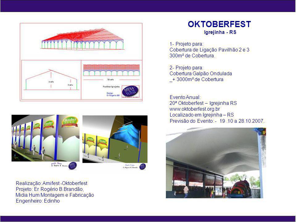 OKTOBERFEST Igrejinha - RS 1- Projeto para: