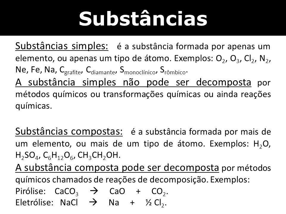 Substâncias