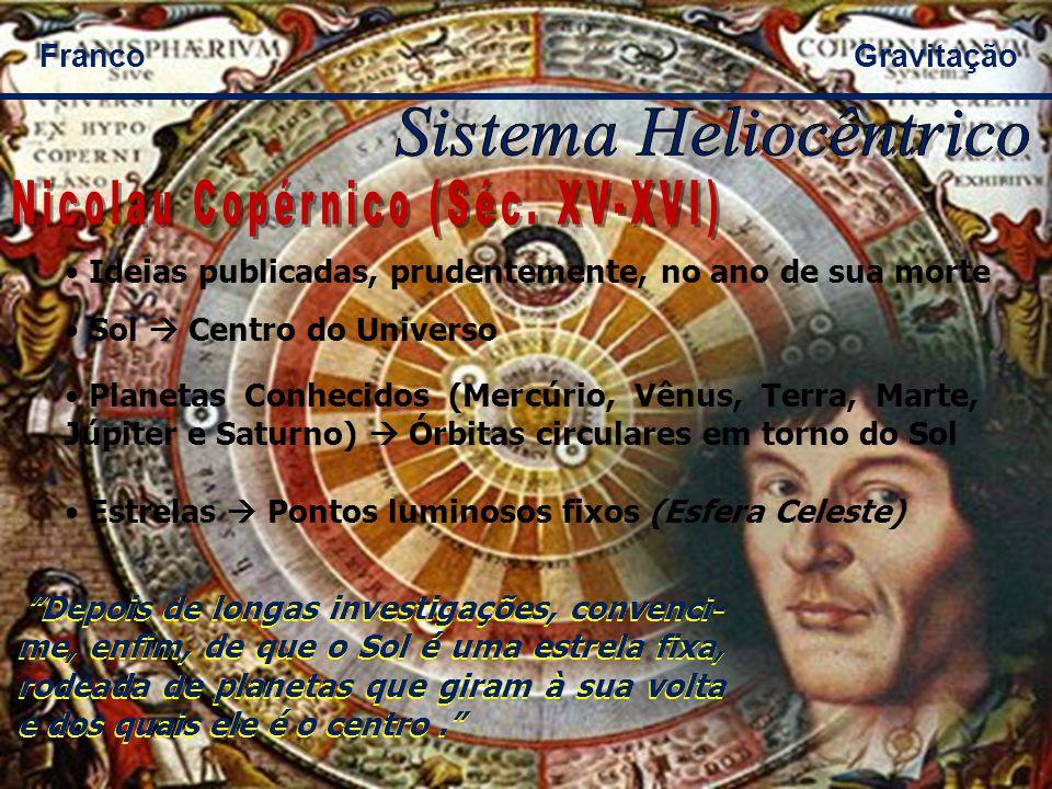 Sistema Heliocêntrico Nicolau Copérnico (Séc. XV-XVI)