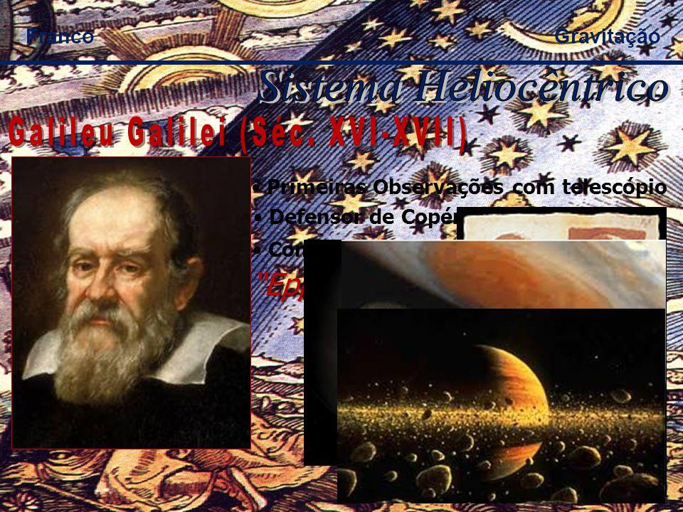 Sistema Heliocêntrico Galileu Galilei (Séc. XVI-XVII)
