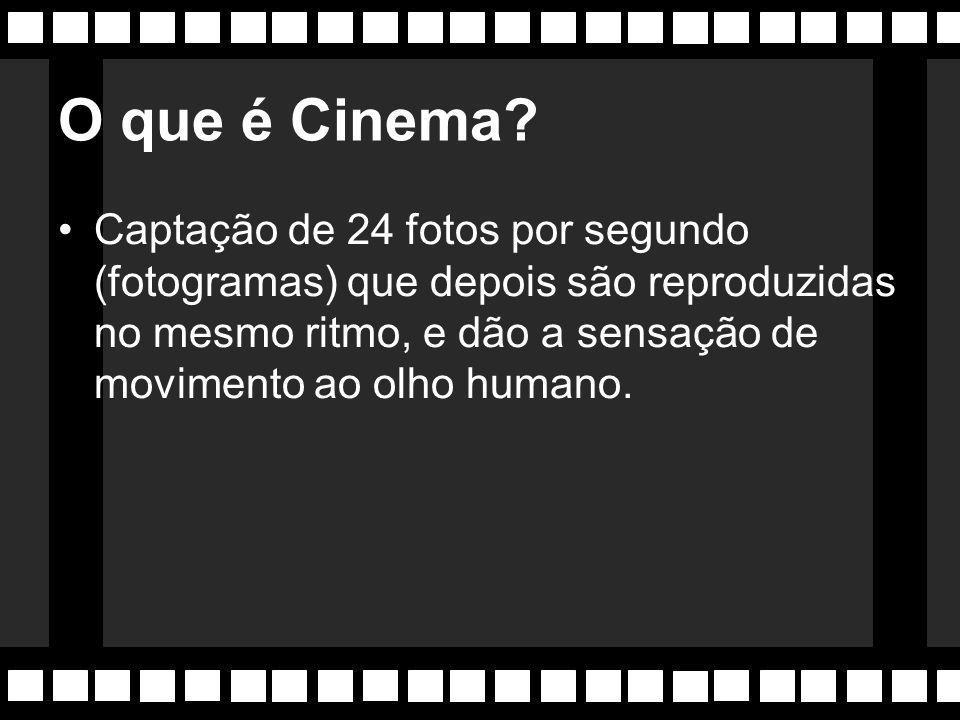 O que é Cinema